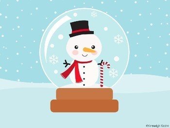 Snow Globe Compound Words (Great for Google Classroom!)