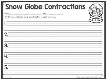 Contractions Center: Snow Globe Contractions