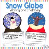 Winter Snow Globe Craft and Writing Activity
