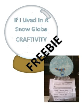 Snow Globe Craftivity FREEBIE