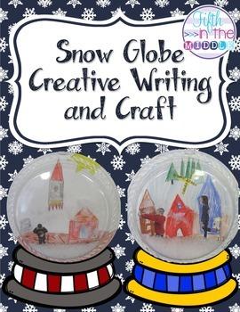FREE Snow Globe Creative Writing and Craft