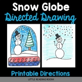 Snow Globe Directed Drawing