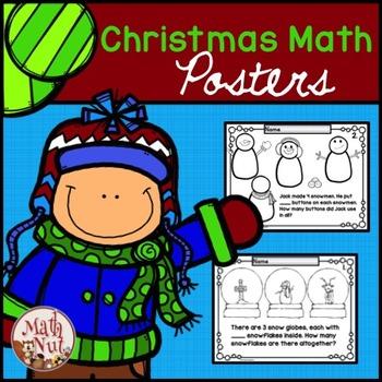 "Christmas Math ""Word Problems"""
