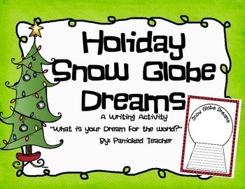 Snow Globe Dreams: Holiday Freebie