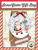 Snow Globe Gift Bag, Bulletin Board, or Craft