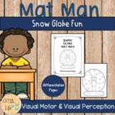 Snow Globe Mat Man