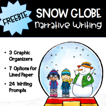 Snow Globe Narrative Writing Freebie
