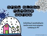 Snow Globe Number Sense to 40