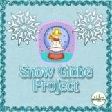 Snow Globe Writing Craft Project