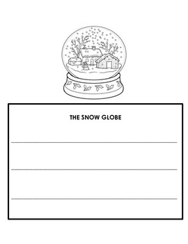 Snow Globe Readers' Theater and Activity Packet