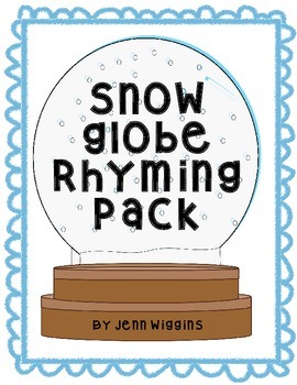 Snow Globe Rhyming Pack