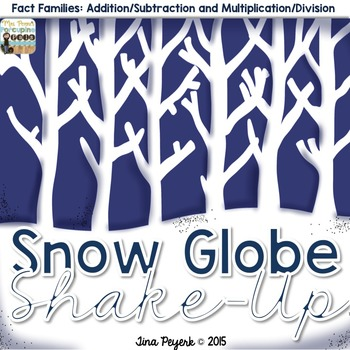 Fact Family Snow Globe Shake Up