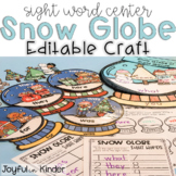 Snow Globe Sight Words