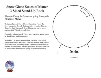 Snow Globe States of Matter Review