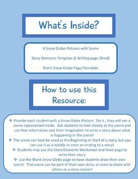 Snow Globe Story Starters