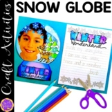 Snow Globe Writing Craft Activity