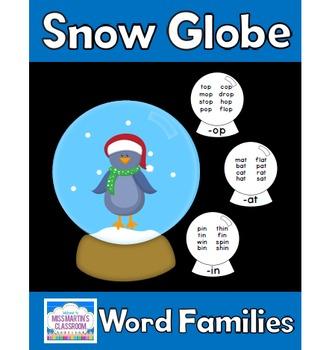 Snow Globe Word Families