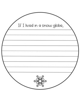 Snow Globe Writing