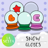 Snow Globes Clipart