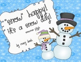 """Snow"" Happy Snowman Glyph"