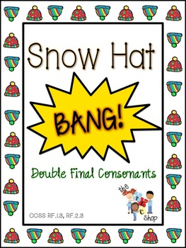 Snow Hat BANG! Double Final Consonants