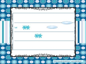 Snow & Ice - prepare, present & practice reading la