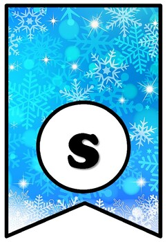 Snow Is Falling & Books Are Calling, Winter Snow Bulletin Board Sayings Pennant