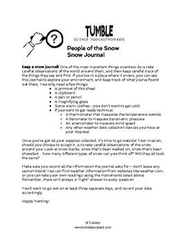Snow Journal