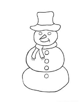 Snow Man Hokey Pokey!