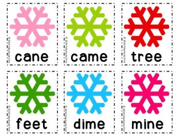 Snow Many Literacy Centers