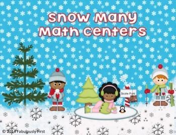 Snow Many Math Centers!