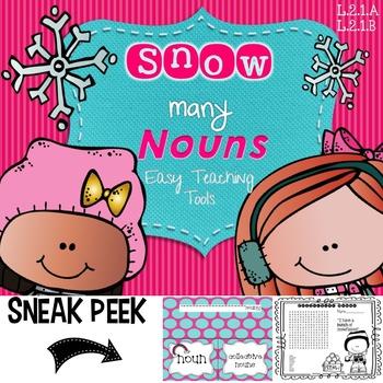Snow Many Nouns {Common-Proper-Collective-Irregular}