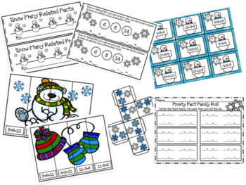 Snow Many Related Facts Activity 4 Pack
