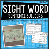 Sentence Building {Sight Word Activities for January}
