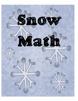 Snow Math - Addition