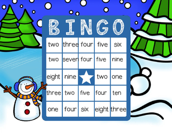 Snow Math Games