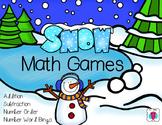 Snow Math Games
