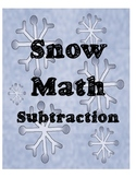 Snow Math - Subtraction