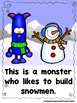 Snow Monsters  (A Sight Word Emergent Reader and Teacher Lap Book)