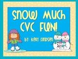 Snow Much CVC Fun!