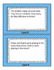Snow Much Fun 1.OA.1 and 1.OA.2 Math Center Word Problems