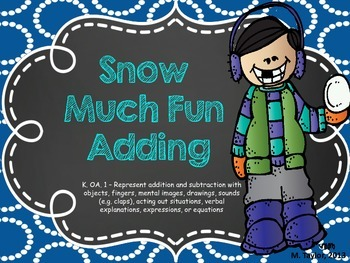 Snow Much Fun Adding! (K.OA.A1)