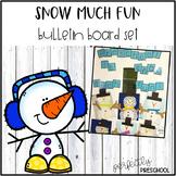 Snow Much Fun Bulletin Board Letters
