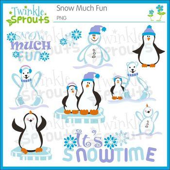 Snow Much Fun Clipart