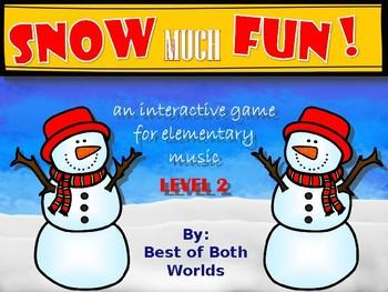 Snow Much Fun! Level 2