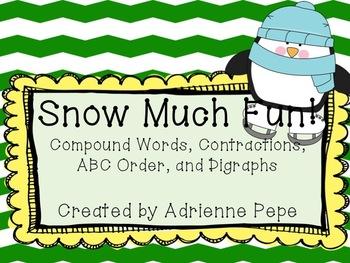 Snow Much Fun: Literacy Centers