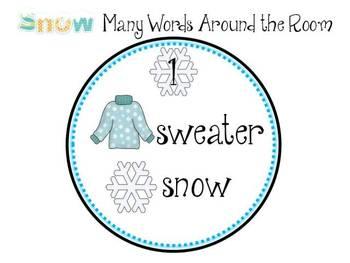 Snow Much Fun: Literacy & Math Pack