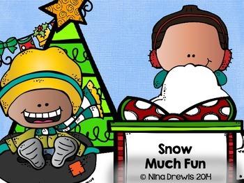 Snow Much Fun Making Words