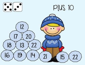 """""""Snow"""" Much Fun Math Practice Games"""