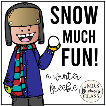 Snow Much Fun! {Snowy Themed Literacy Activities}